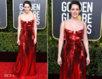 Fashion Blogger Catherine Kallon features Phoebe Waller-Bridge In Galvan - 2019 Golden Globe Awards