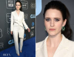 Fashion Blogger Catherine Kallon features Rachel Brosnahan In Carolina Herrera - 2019 Critics' Choice Awards