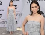 Fashion Blogger Catherine Kallon features Aja Rachel Brosnahan In Christian Dior Haute Couture - 2019 SAG Awards