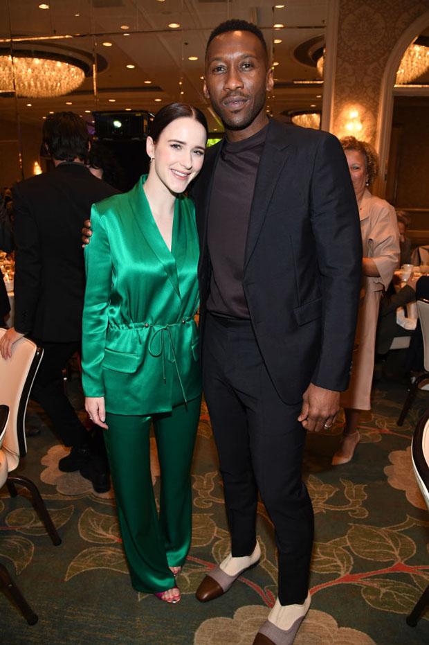 Fashion Blogger Catherine Kallon features Rachel Brosnahan In Cushnie - 2019 AFI Awards