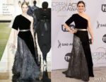 Fashion Blogger Catherine Kallon features Rachel Weisz In Givenchy Haute Couture - 2019 SAG Awards