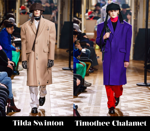 Fashion Blogger Catherine Kallon Features Raf Simons Fall 2019 menswear