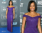 Fashion Blogger Catherine Kallon features Regina King In Michael Kors Collection - 2019 Critics' Choice Awards