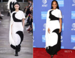 Fashion Blogger Catherine Kallon features Regina King In Valentino - 2019 Palm Springs International Film Festival Gala