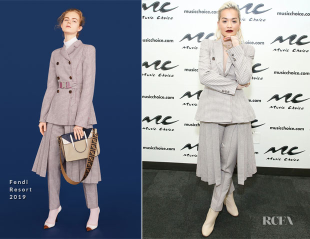Fashion Blogger Catherine Kallon features Rita Ora In Fendi - Music Choice