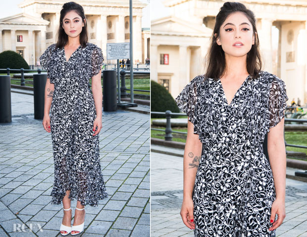 Fashion Blogger Catherine Kallon Features Rosa Salazar In Sonia Rykiel & Michael Kors Collection - 'Alita: Battle Angel' World Premiere & Berlin Photocall