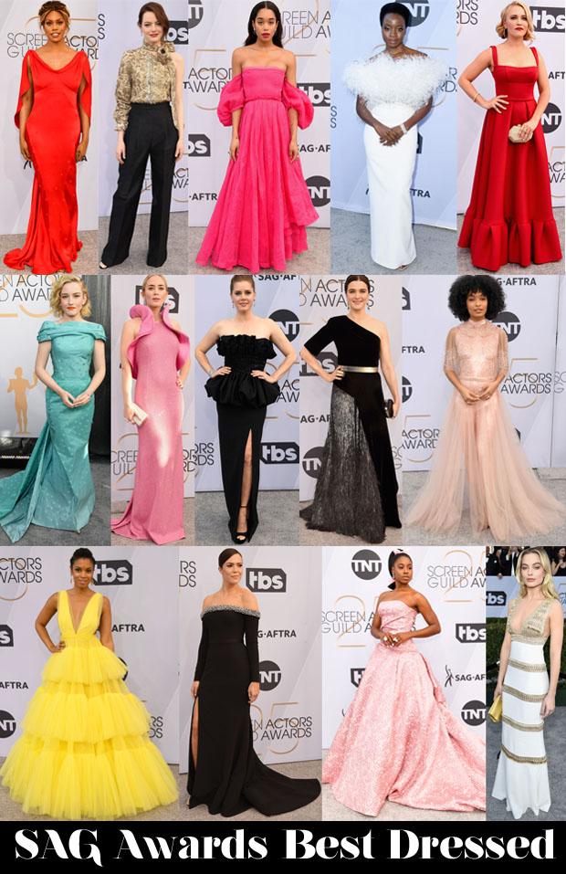 Fashion Blogger Catherine Kallon Features SAG Awards Best Dressed
