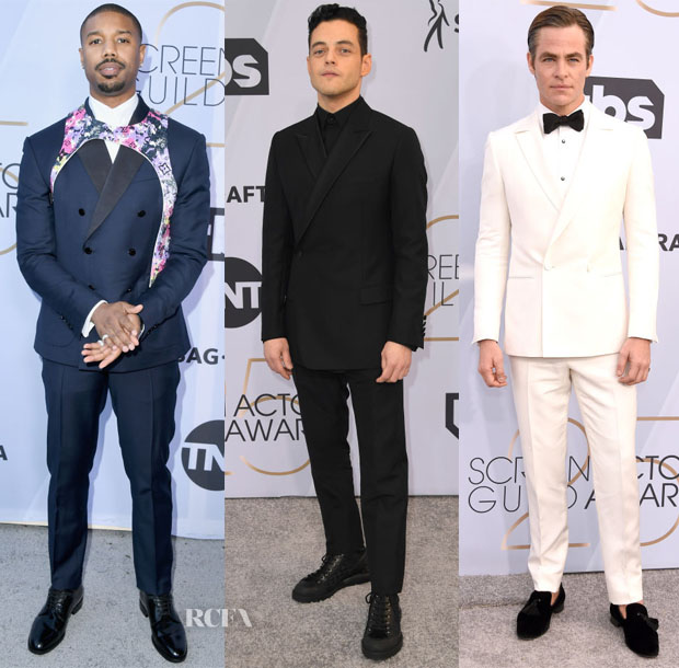 Fashion Blogger Catherine Kallon features 2019 SAG Awards Menswear
