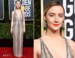 Fashion Blogger Catherine Kallon features Saoirse Ronan In Gucci - 2019 Golden Globe Awards