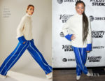 Fashion Blogger Catherine Kallon features Storm Reid In Tory Sport - 2019 Sundance Film Festival