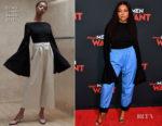 Fashion Blogger Catherine Kallon features Taraji P. Henson In Solace London - 'What Men Want' Atlanta Premiere