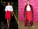 Fashion Blogger Catherine Kallon features Tessa Thompson In Pyer Moss - Refinery29 Host Sex, Politics, Film & TV Reception