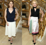 Fashion Blogger Catherine Kallon features Tory Burch Toasts Amy Adams and Patricia Clarkson