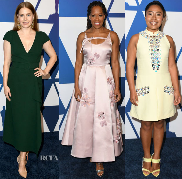 2019 Oscars Nominees Luncheon - Red Carpet Fashion Awards