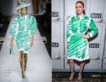 Fashion Blogger Catherine Kallon features Anna Paquin In Moschino - Build Series 'Flack'