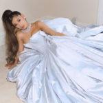 Fashion Blogger Catherine Kallon features Ariana Grande In Zac Posen - At Home