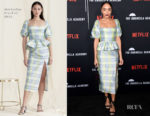 Fashion Blogger Catherine Kallon features Ashley Madekwe In Markarian - Premiere Of Netflix's 'The Umbrella Academy'