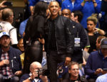 Fashion Blogger Catherine Kallon features Barack Obama In Rag & Bone - North Carolina v Duke