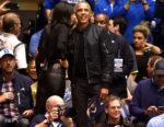 Fashion Blogger Catherine Kallon features Barack Obama In Rag & Bone - North Carolina v Duke
