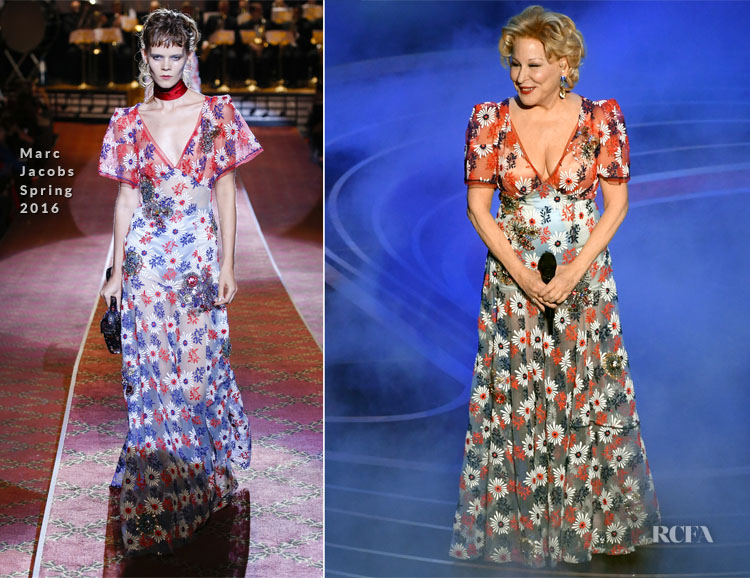 Bette Midler In Marc Jacobs - 2019 Oscars