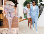 Fashion Blogger Catherine Kallon features Beyonce Knowles In Balmain - 2019 Roc Nation THE BRUNCH