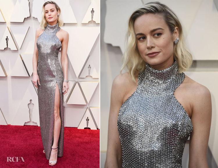 Brie Larson In Celine - 2019 Oscars