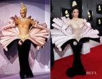 Fashion Blogger Catherine Kallon features Cardi B In Vintage Mugler Haute Couture -2019 Grammy Awards