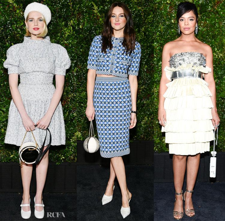 Fashion Blogger Chanel & Charles Finch 11th Annual Pre-Oscar Awards Dinner