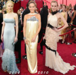 Fashion Blogger Catherine Kallon features Chanel dresses at the Oscars