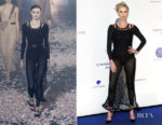 Fashion Blogger Catherine Kallon features Charlize Theron In Christian Dior - Cinema For Peace International Committee & Nominee Dinner