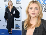 Fashion Blogger Catherine Kallon features Chloe Grace Moretz In Loewe - 2019 Film Independent Spirit Awards