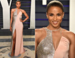 Ciara In Atelier Versace - 2019 Vanity Fair Oscar Party