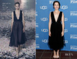 Fashion Blogger Catherine Kallon features Claire Foy In Christian Dior - 34th Santa Barbara International Film Festival