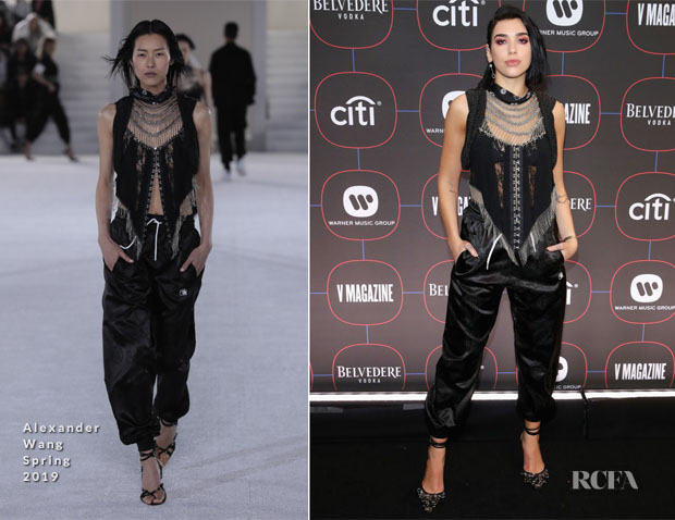 Fashion Blogger Catherine Kallon Features Dua Lipa in Alexander Wang