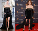 Fashion Blogger Catherine Kallon features Eleanor Tomlinson In Ralph & Russo - BAFTA Film Gala