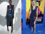 Fashion Blogger Catherine Kallon features Elizabeth Banks In David Koma - 'The Lego Movie 2: The Second Part' LA Premiere