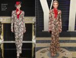 Elizabeth Debicki In Armani Prive - 2019 Vanity Fair Oscar Party