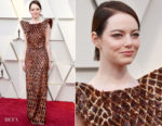 Emma Stone In Louis Vuitton - 2019 Oscars