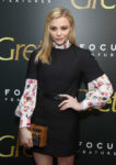 Fashion Blogger Catherine Kallon features Chloe Grace Moretz In Louis Vuitton - 'Greta' New York Screening