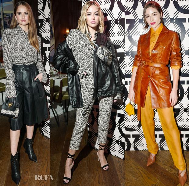 Fashion Blogger Catherine Kallon Features Ferragamo launches #Gancini