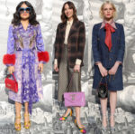 Fashion Blogger Catherine Kallon features Front Row @ Gucci Fall 2019
