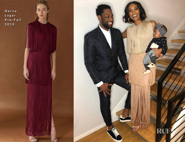 Gabrielle Union In Herve Leger - Valentine's Day