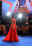 Gemma Chan In Brandon Maxwell - 'Captain Marvel' London Premiere