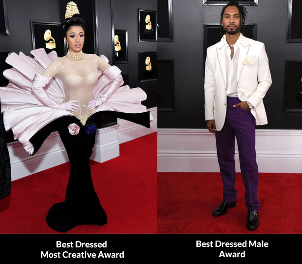 2019 Grammys Fashion Critics' Roundup