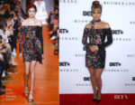 Fashion Blogger Catherine Kallon features Halle Berry In Elie Saab - BET 'Boomerang' LA Premiere