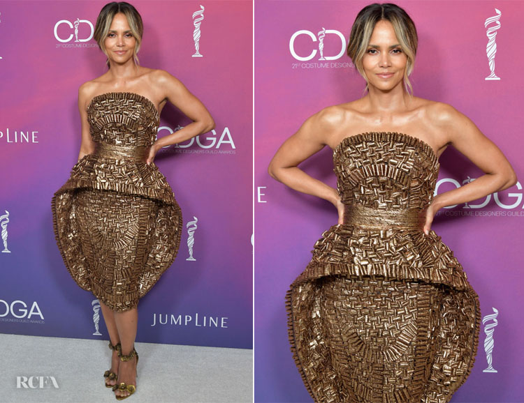 Fashion Blogger Catherine Kallon features Halle Berry In Ruth E Carter - 2019 Costume Designers Guild Awards