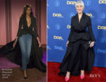 Fashion Blogger Catherine Kallon features Helen Mirren In Brandon Maxwell - 2019 Directors Guild Of America Awards