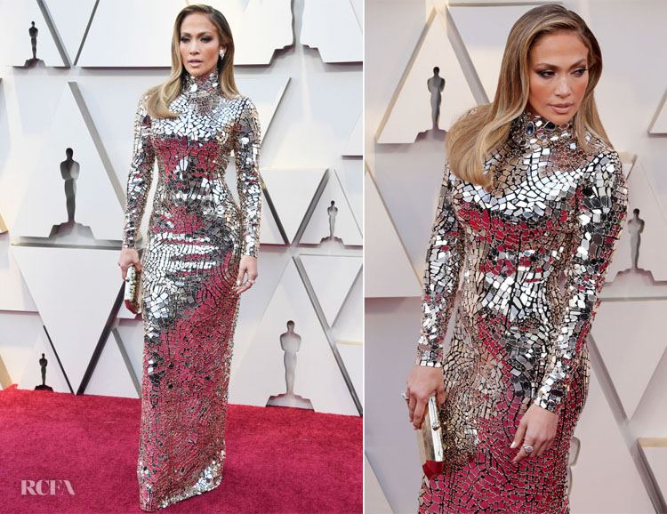 Jennifer Lopez In Tom Ford - 2019 Oscars