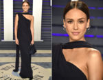 Jessica Alba In Narciso Rodriguez - 2019 Vanity Fair Oscar Party