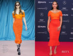 Fashion Blogger Catherine Kallon features Jorja Smith In Emilio de la Morena - 2019 Laureus World Sports Awards